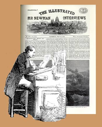 The Illustrated Mr Newman Interviews
